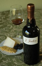 J. Jaden Red Dessert Wine 2008 Estate Grown Contra Costa County